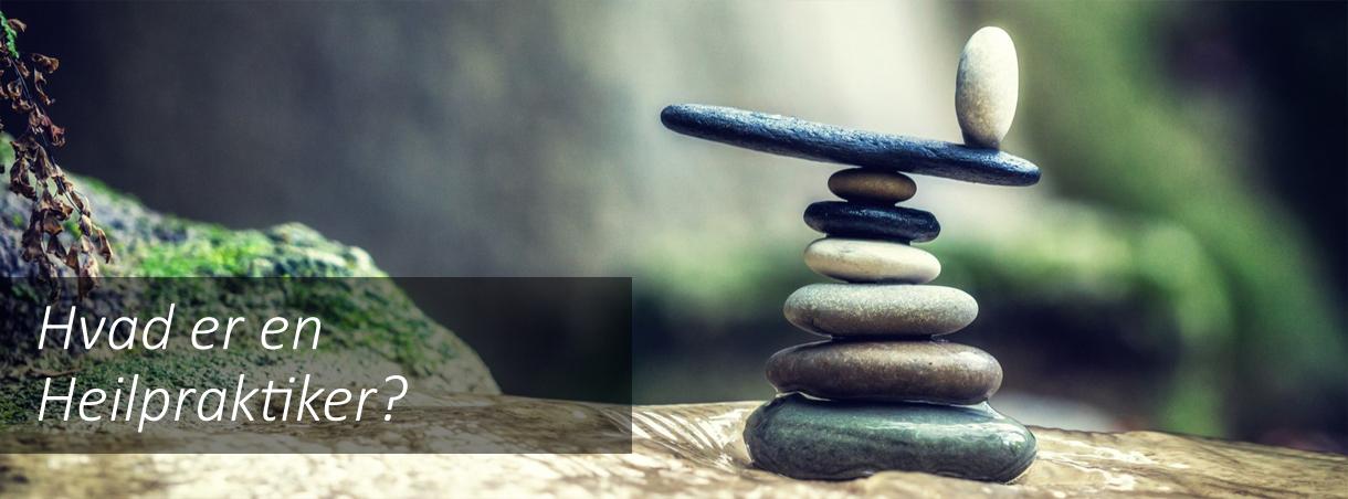 Heilpraktik skaber balance og finder årsagen til sygdom.